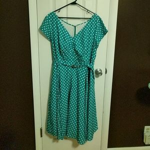 Eshakti Custom Polka Dot Dress